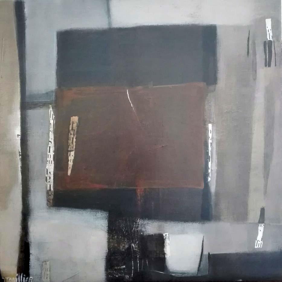 peinture acrylique, acrylique on canvas, modern painting, contemporary painting, abstract painting, nature morte,technique mixte odile touillier peinture