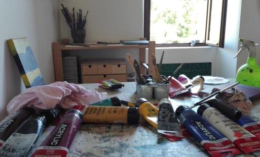 acrylicpainting, acrylique, artstudio, atelier,work in progress,acrylic on canvas