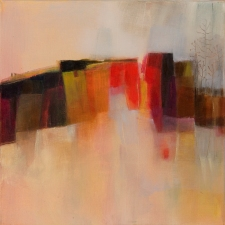 peinture acrylique, acrylique on canvas, modern painting, contemporary painting, abstract painting, landscape painting, landscape, paysage, odile touillier peinture