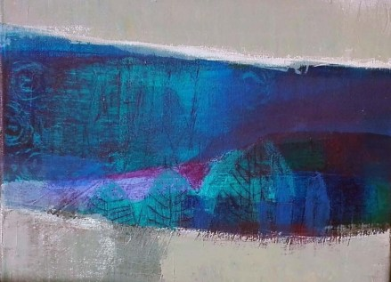 peinture acrylique, acrylique on canvas, modern painting, contemporary painting, abstract painting, paysage, landscape painting odile touillier peinture