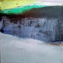 Acrylique sur toile, acrylic on canvas, paysage, landscape painting,, odile touillier painting