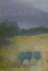 Acrylique sur toile, acrylic on canvas, art actuel, paysage, lanscape painting,odile touillier painting