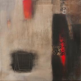 Acrylique sur toile, acrylic on canvas, peinture abstraite, odile touillier painting