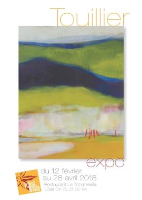 Exposition peinture Odile Touillier Tchaï Walla