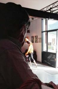 TDD, exposition peinture, spectacle vivant, Morane Salunier,Odile Touillier painting, performance