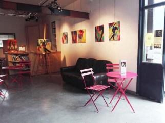 TDD, exposition peinture, spectacle vivant, Odile Touillier painting