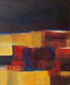 Peinture acrylique, art visuel, anigras, exposition peinture, art actuel, odile touillier peinture
