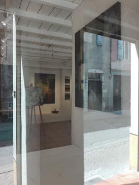 Galerie du 10 sur Die, 10 rue Camille Buffardel, lieu culturel, galerie d'art, Odile Touillier, artiste peintre, Diepeinture contemporaine