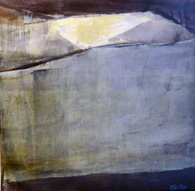 Acrylique sur toile, acrylic on canvas, paysage, landscape painting, odile touillier painting, la galerie du 10