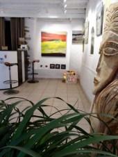 La galerie du 10, galerie d'art, Die, rue Camille Buffardel, atelier de peinture, espace d'exposition, peinture, tableaux, toiles