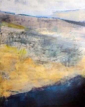 Acrylique sur toile, acrylic on canvas, paysage, landscape painting,, odile touillier painting, la galerie du 10