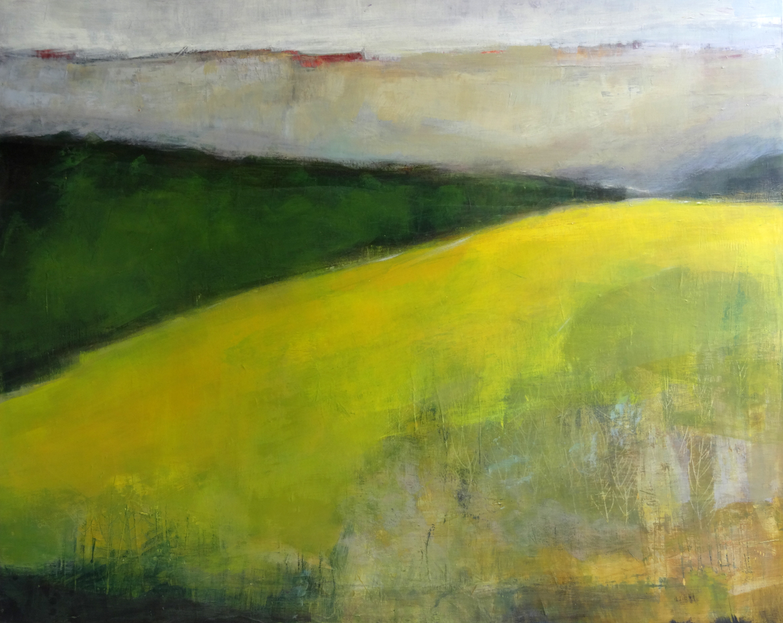 Odile Touillier painting, acrylique on canvas, moderne painting, la galerie du 10, landscape painting,