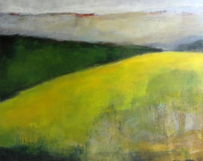 Odile Touillier painting, acrylique on canvas, moderne painting, la galerie du 10, landscape painting,