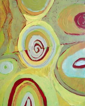Acrylique sur toile, acrylic on canvas, paysage, landscape painting, O.Touillier painting, la galerie du 10