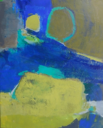 """résidence artistique, thème """"eau"""", avril 2020, Odile Touillier, painting Odile Touillier, acrylique on canvas, moderne painting, la galerie du 10, landscape painting,"""