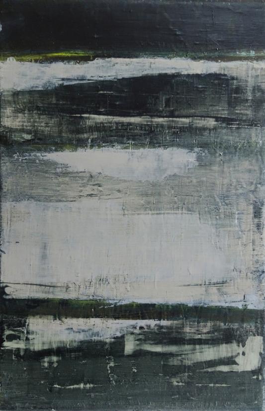 odile touillier, peinture acrylique sur toile, artiste contemporain, touillier, galerie du dix, galerie du 10, paysage, regarde la rivière chante, eau
