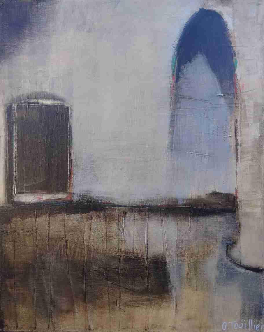 odile touillier, artiste peintre, artistes contemporains, acrylique sur toile, galerie du dix, la galerie du 10, Die, exposition automne hiver