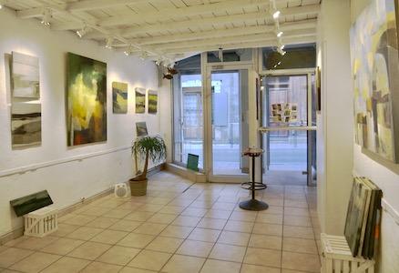 peinture acrylique sur toile, touillier, galerie du 10, paysage, expo automne hiver, Die