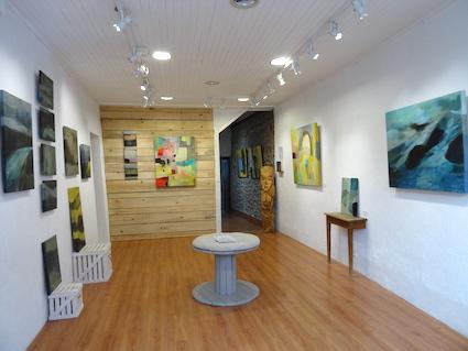 odile touillier, artiste peintre, e.cadeau, artistes contemporains, acrylique sur toile, galerie du dix, la galerie du 10, Die, exposition